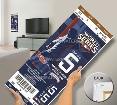 2009 World Series Mega Ticket - Philadelphia Phillies