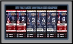 2009 World Series Tickets to History Framed Print - New York Yankees
