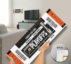 2010 NHL Stanley Cup Mega Ticket - Philadelphia Flyers