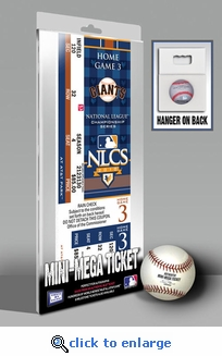 2010 NLCS Mini-Mega Ticket - San Francisco Giants