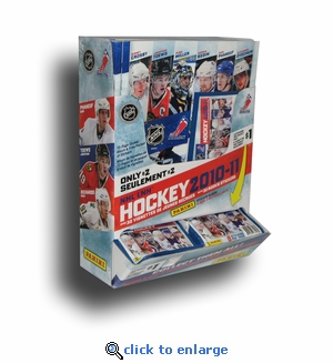 2010 Panini NHL Stickers And Album Combo Display (100 Packs + 20 Albums Per Display)