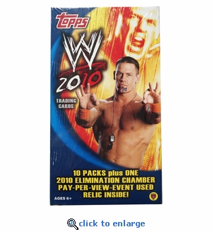 2010 Topps Wwe Value Box