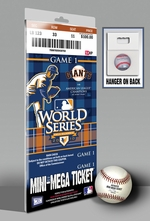 2010 World Series Mini-Mega Ticket - San Francisco Giants