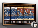2010 World Series Tickets to History Canvas Print - San Francisco Giants