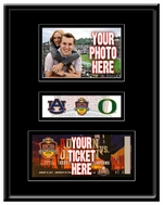 2011 BCS Championship Game 4x6 Photo and Ticket Frame - Auburn vs Oregon
