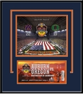 2011 BCS Championship Game 8x10 Photo and Replica Ticket Frame - Auburn