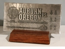 2011 BCS Championship Game Hand Forged Metal Ticket - Auburn Tigers