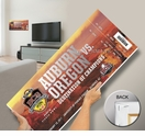 2011 BCS National Championship Game Mega Ticket - Auburn Tigers