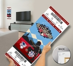 2011 MLB All-Star Game Mega Ticket - Diamondbacks Host - MVP Prince Fielder, Brewers