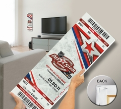 2011 NHL All-Star Game Mega Ticket, Hurricanes Host - MVP Sharp