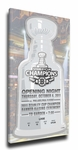 Boston Bruins 2011 Stanley Cup Champions Banner Raising Canvas Mega Ticket