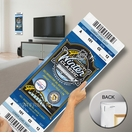 2011 NHL Winter Classic Mega Ticket - Capitals vs Penguins