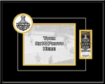 2011 NHL Stanley Cup Final 8x10 Photo and Ticket Frame - Boston Bruins
