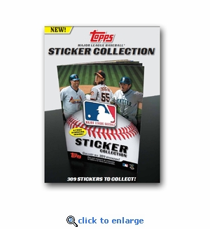 2011 Topps MLB Stickers (50 Packs)
