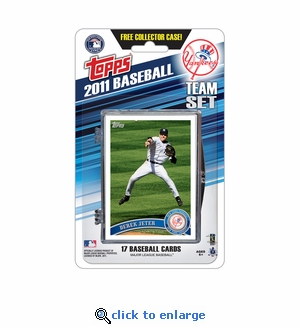 2011 Topps Team Sets - New York Yankees