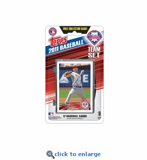 2011 Topps Team Sets - Philadelphia Phillies