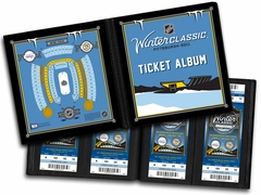 2011 NHL Winter Classic Ticket Album - Capitals vs Penguins