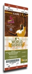 2011 World Series Canvas Mega Ticket - St Louis Cardinals