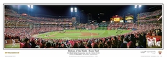 2011 World Series Panoramic Photo Game 6 Bottom of the 9th - St Louis Cardinals