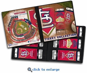 2011 World Series Ticket Album - St Louis Cardinals