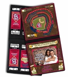 2011 World Series Ticket Album with Photo Cover - St Louis Cardinals