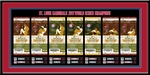 2011 World Series Tickets to History Framed Print - St. Louis Cardinals