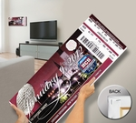 2012 BCS National Championship Game Mega Ticket - Alabama Crimson Tide