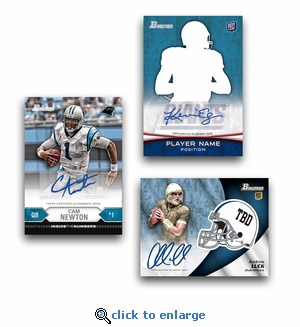 2012 Bowman Signature Football (5 Packs)