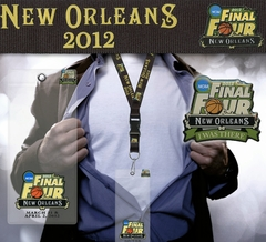 2012 NCAA Final Four Lanyard, Ticket Holder & Pin