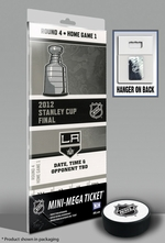 2012 NHL Stanley Cup Final Mini-Mega Ticket - Los Angeles Kings Champions
