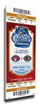 2012 NHL Winter Classic Canvas Mega Ticket - Rangers vs Flyers