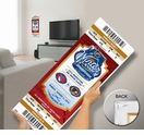 2012 NHL Winter Classic Mega Ticket - Rangers, Flyers