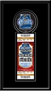 2012 NHL Winter Classic Single Ticket Frame - Rangers vs Flyers