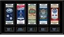 2012 NHL Winter Classic Tickets to History Replica Ticket Frame - Rangers vs Flyers