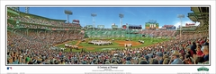 2012 Red Sox 100th Anniversary Game Panoramic Photo