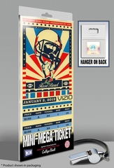 2012 Rose Bowl Mini-Mega Ticket - Oregon Ducks