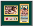 2012 Rose Bowl Your 4x6 Photo & Ticket Frame - Wisconsin vs Oregon