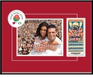 2012 Rose Bowl Your 8x10 Photo & Ticket Frame - Wisconsin vs Oregon
