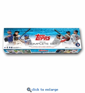 2012 Topps Baseball Retail Factory Set