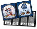 2012 Winter Classic Ticket Album - Rangers vs Flyers