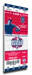 2012 World Series Canvas Mega Ticket - Detroit Tigers