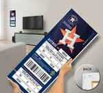 Houston Astros 2013 Opening Day Mega Ticket
