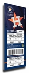 Houston Astros 2013 Opening Day Canvas Mega Ticket