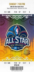2014 NBA All-Star Game - Pelicans Host