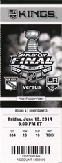 2014 Stanley Cup Final - Los Angeles Kings