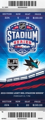 2015 NHL Stadium Series - Kings vs Sharks