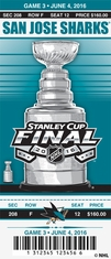 2016 Stanley Cup Final - Sharks vs Penguins