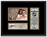 Anaheim Ducks 4x6 Photo and Ticket Frame