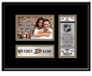 Anaheim Ducks My First Game 4x6 Photo and Ticket Frame