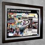 Anaheim Ducks Ticket & Photo Collage Frame